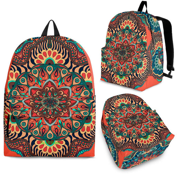 Beautiful Vibes Mandala Design Four Backpack