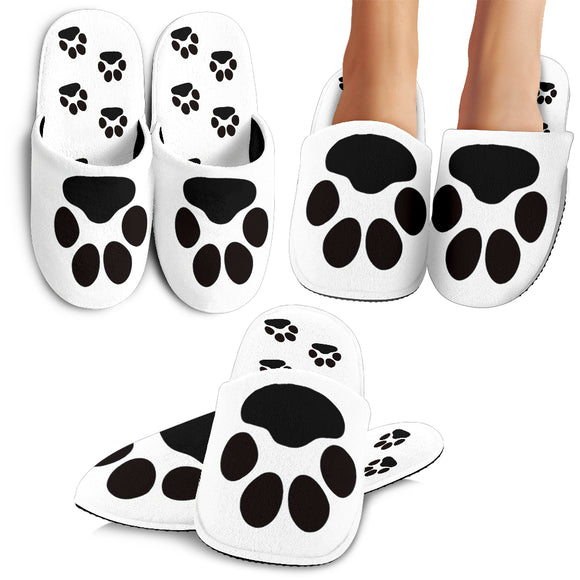Black Paws Slippers