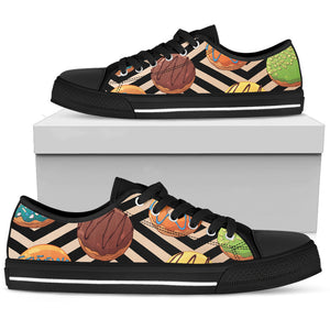 Sweet Donuts Men's Low Top Shoes