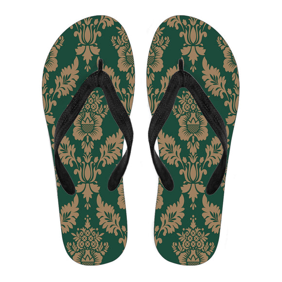Baroque Sky Men's Flip Flops