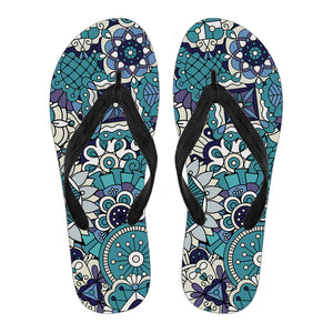 Magic Mandala Vol. 3 Women's Flip Flops