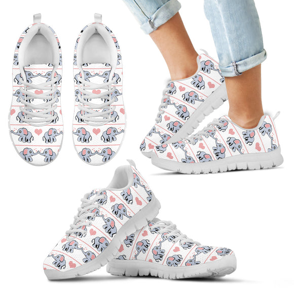 Baby Elephants Kid's Sneakers