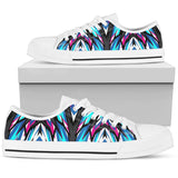 Racing Style Blue & Pink Vibes Low Top Shoe