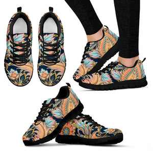 Romantic Paisley Women's Sneakers