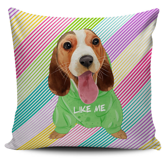 Cute Like Me Puppy Pillow Cover
