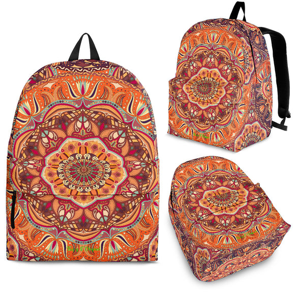 Exclusive Mandala Style Backpack 1 Special Edition by This is iT Original