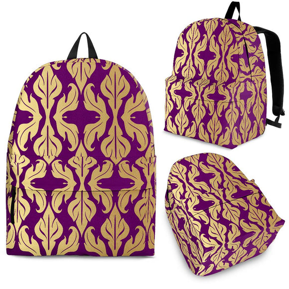 Purple Baroque Backpack