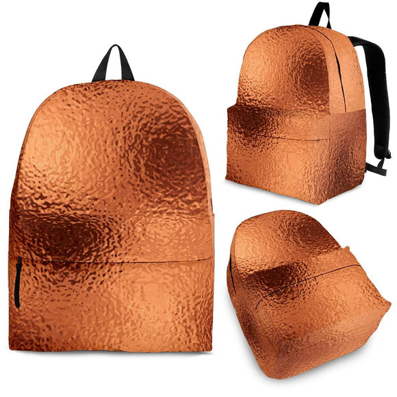 Glittering Copper Backpack