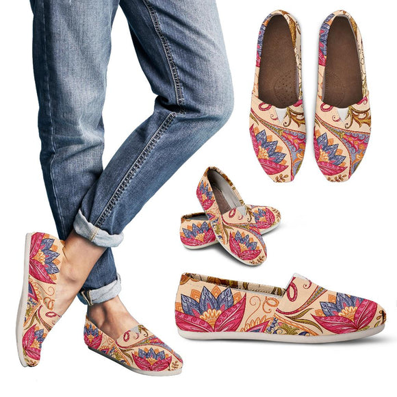 Royal Paisley Women's Casual Shoes