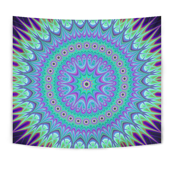Luxury Psychedelic Purple Tapestry