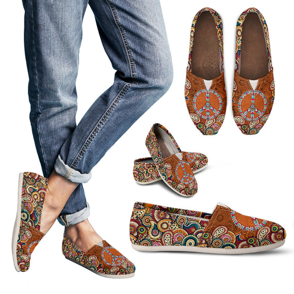 Paisley Mandala Women's Casual Shoes
