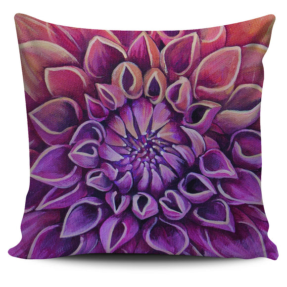 Beautiful Purple Flower Pillow Cover