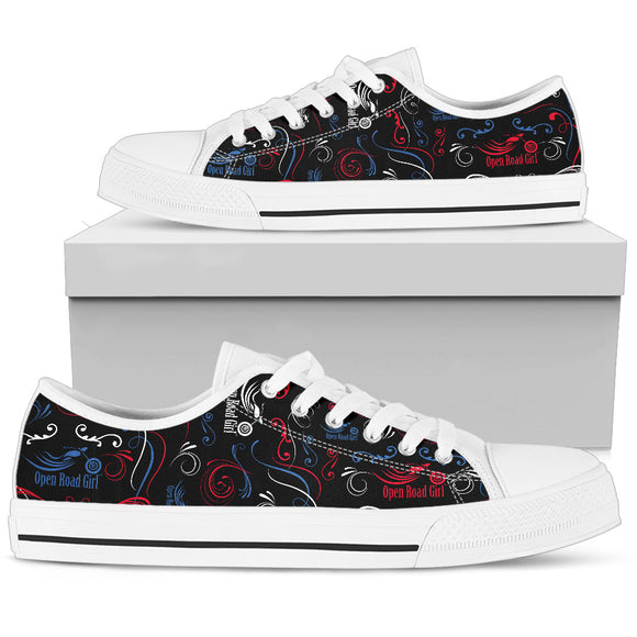 Patriot Open Road Girl Women's Low Top Shoes