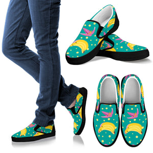 Banana Split Men's Slip Ons