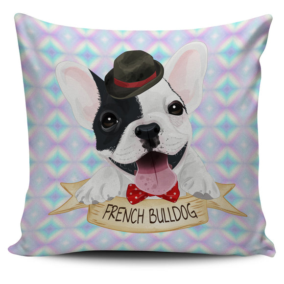 Cute French Bulldog Pillow Cover