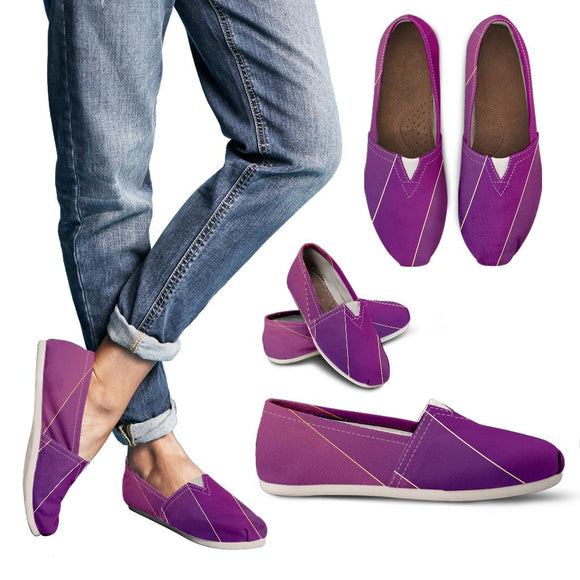Glamour Purple Women's Casual Shoes