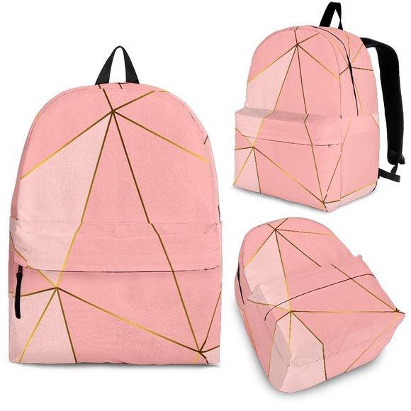 Glittering Marble Love Backpack