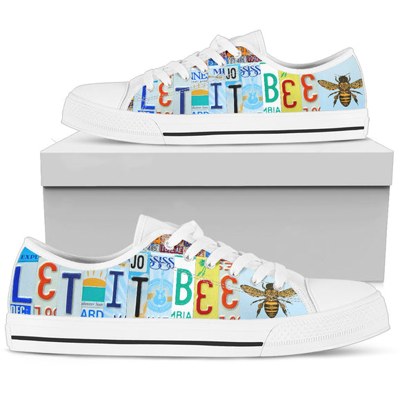 Let It Bee Women's Low Top Shoes