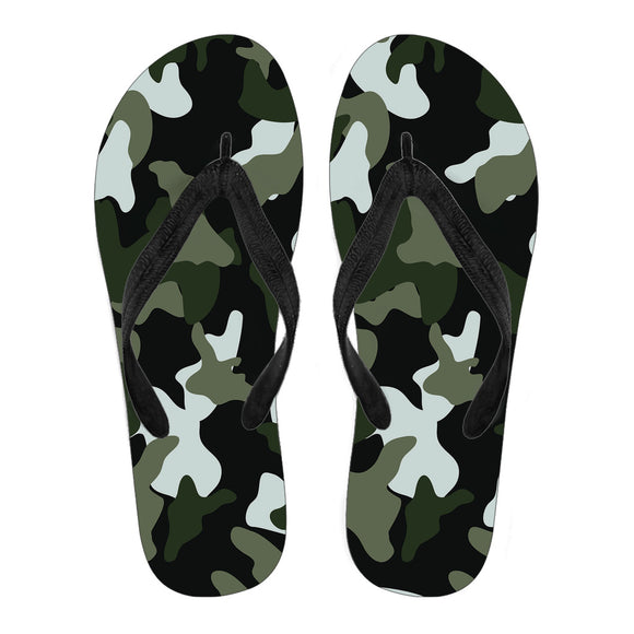 Simply Army Men's Flip Flops