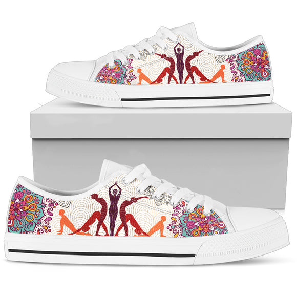 Yoga Lovers Women's Low Top Shoes