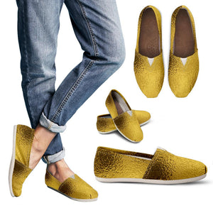 Glittering Gold Women's Casual Shoes