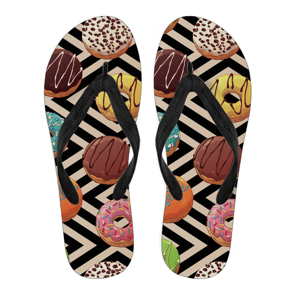 Sweet Donuts Men's Flip Flops