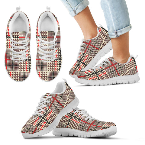 Awesome Tartan Plaid Kid's Sneakers