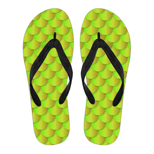 Neon Mermaid Women's Flip Flops