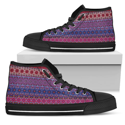 Magical Ornamental Love Women's High Top Shoes