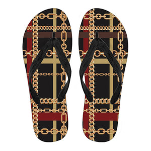 Extraordinary Chain Men's Flip Flops