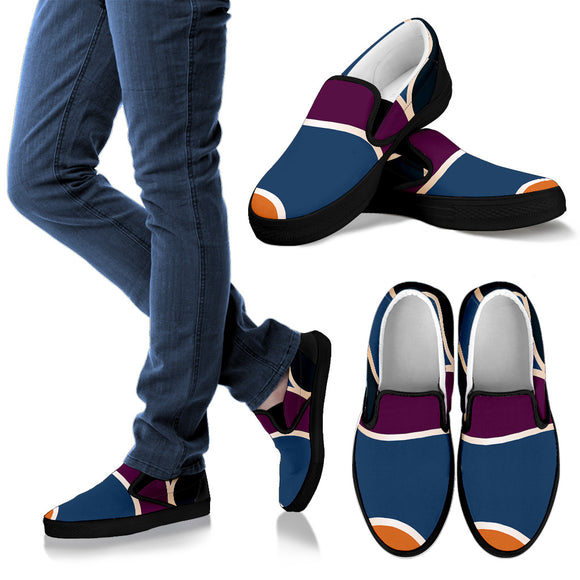 Stunning Colors Women's Slip Ons