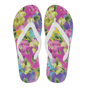 Lovely Pink Women's Flip Flops