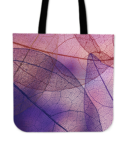 Summer Purple Love Cloth Tote Bag