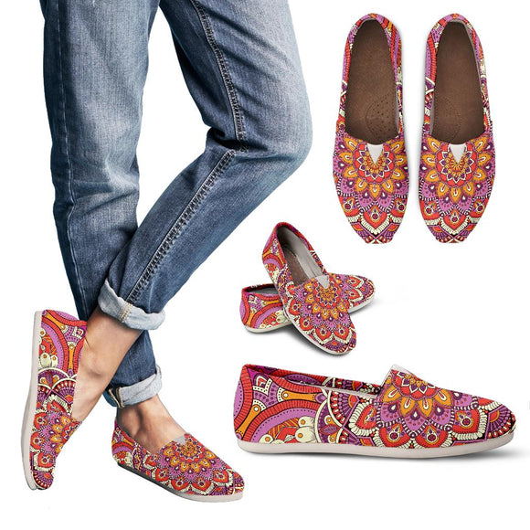 Lovely Boho Mandala Vol. 1 Women's Casual Shoes