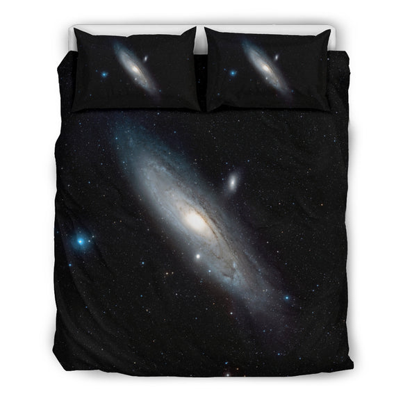 Andromeda Galaxy Object Bedding Set
