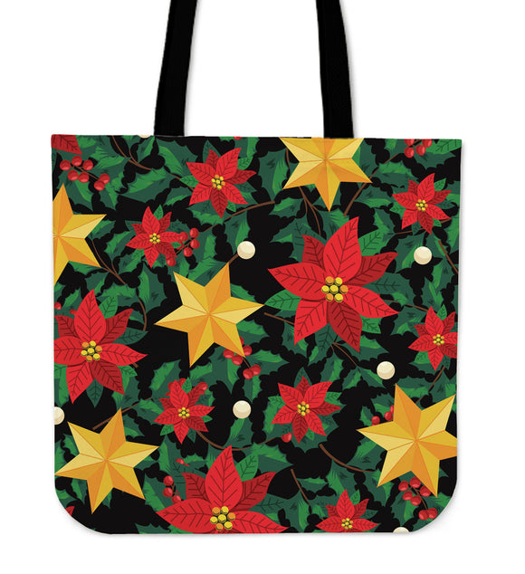 Christmas Perfect Good Vibes Only Cloth Tote Bag
