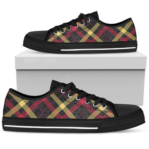 Exclusive Tartan Men's Low Top Shoes