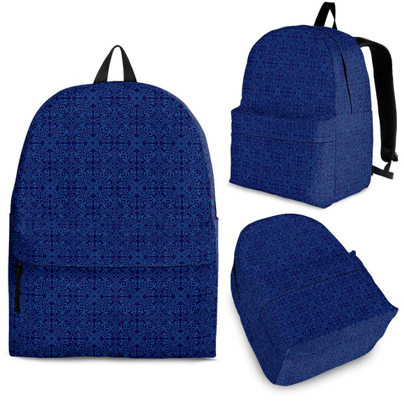 Blue Lovely Backpack