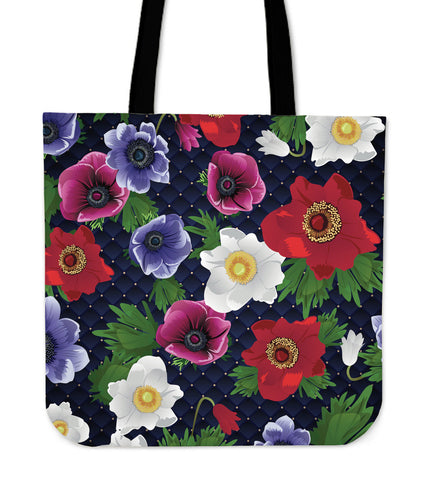 Romantic Flowery Dream Cloth Tote Bag