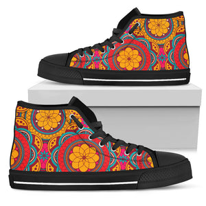 Perfect Oriental Power High Top Shoes