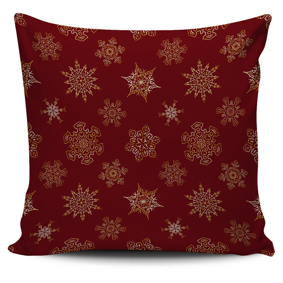 Christmas Red Good Vibes Only Pillow Cover