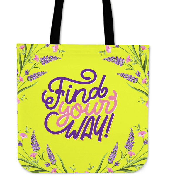 Find Your Way Cloth Tote Bag