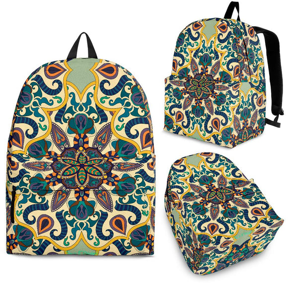 Beautiful Vibes Mandala Design One Backpack