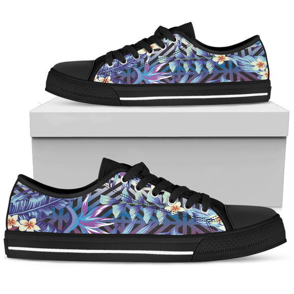 Summer Jungle Love Men's Low Top Shoes