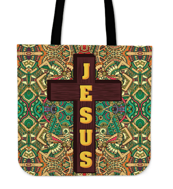 Jesus Is With You Cloth Tote Bag