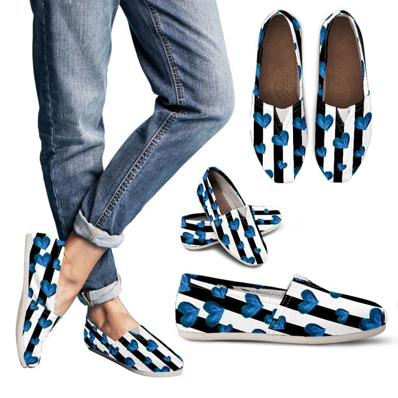 Blue Hearts Women's Casual Shoes