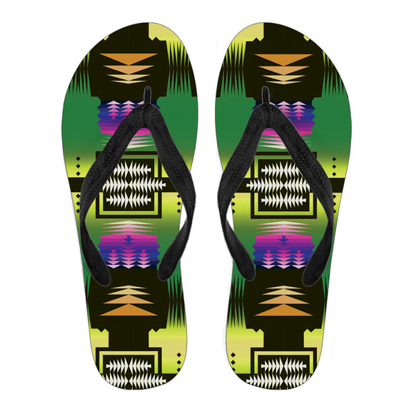 Desert Summer Men's Flip Flops