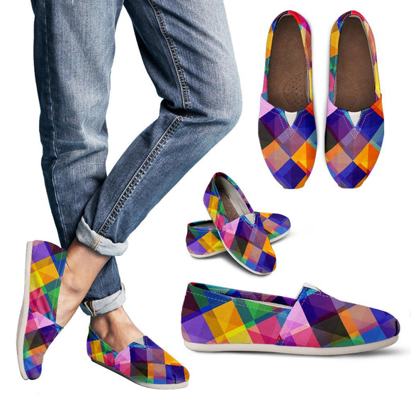 Summer Psychedelic Disco Women's Casual Shoes