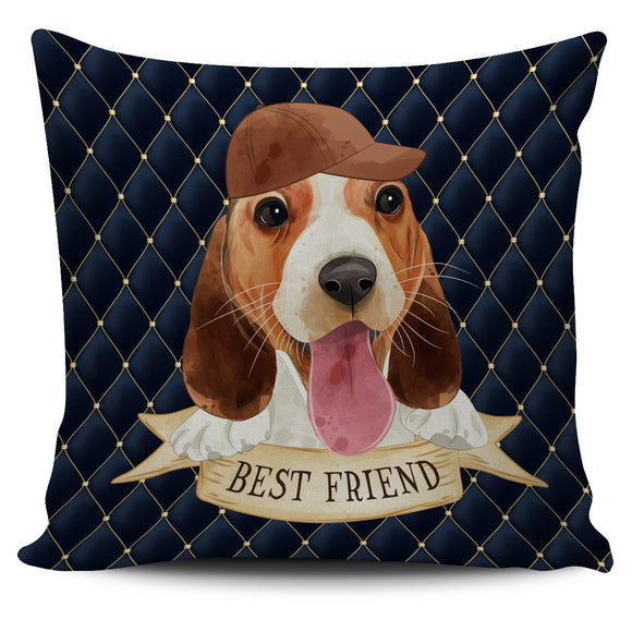 Cute Best Friend Pillow Cover