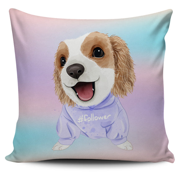 Cute Sweet Puppy Pillow Cover